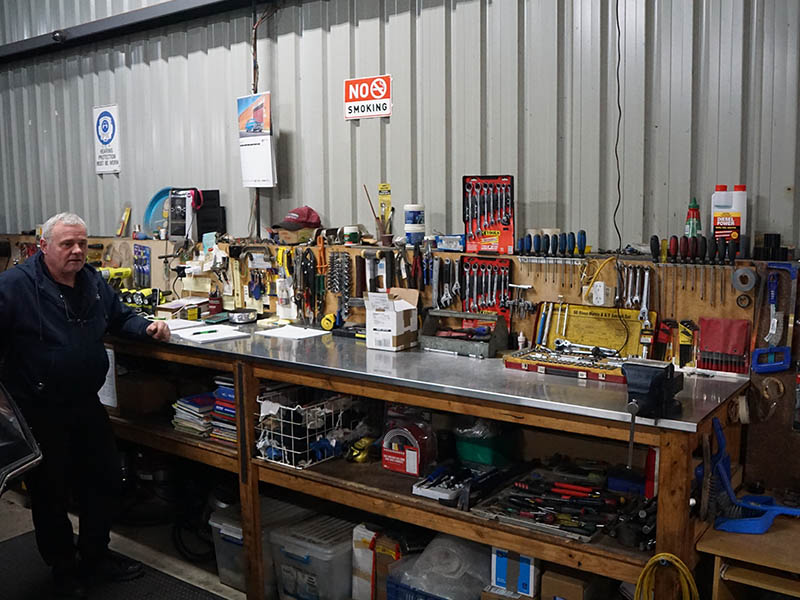 Dream Marine workshop Echuca